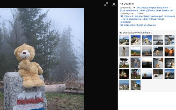 Kontekst zdjęć zmienia się. Może to być np. widok zdjęć użytkownika.