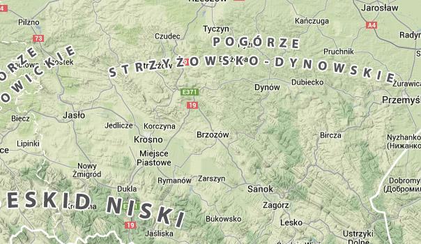 Pogórze Strzyżowsko-Dynowskie
