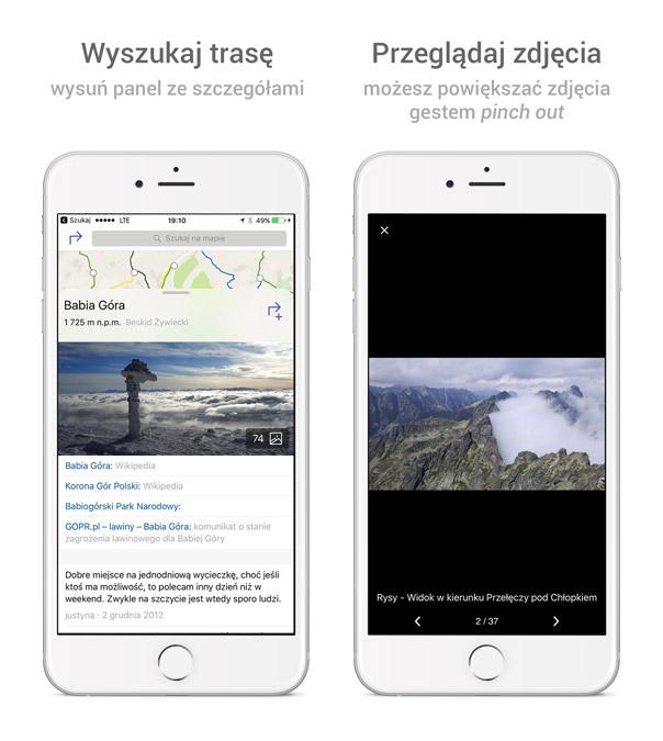 Galeria zdjęć w aplikacji na iOS