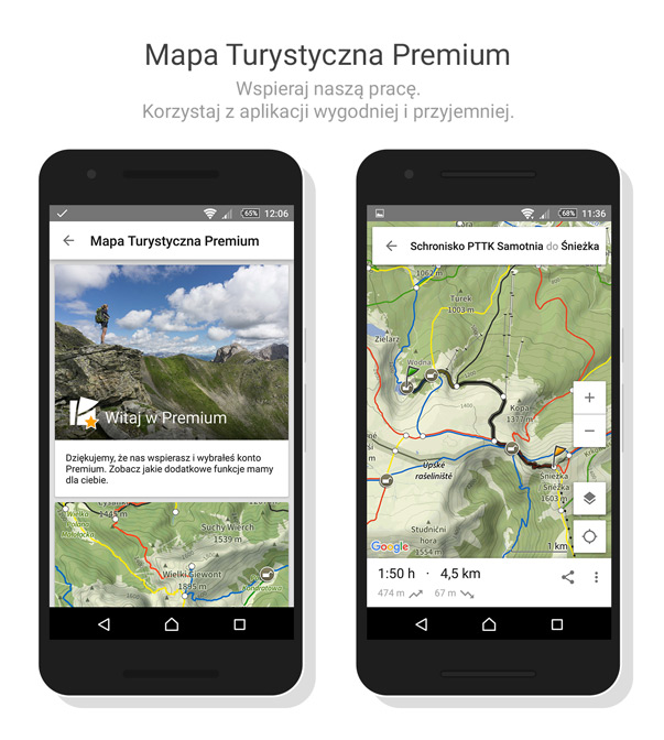 Mapa Turystyczna Premium