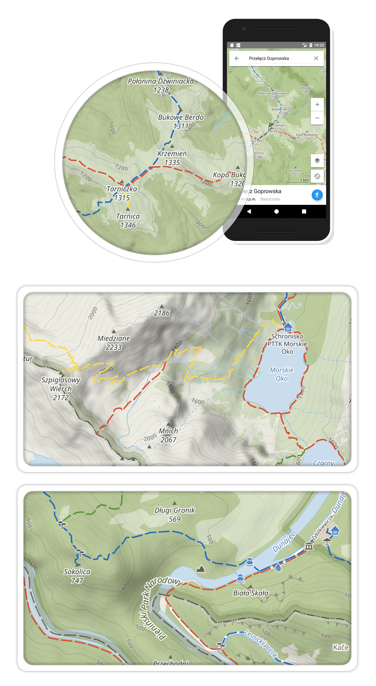 Mapy offline