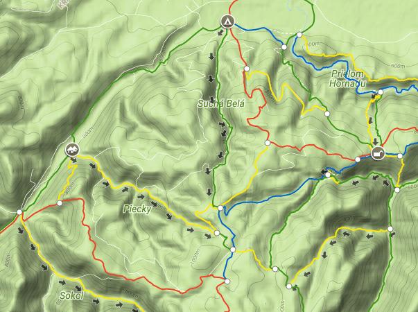 Oznaczenie szlaków jednokierunkowych